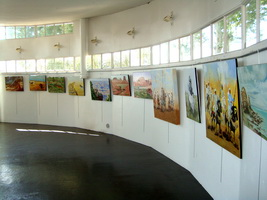 Exposition peintures pierre regnier toiles fantasias