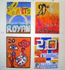 Affiches de l`atelier des enfants - Ateliers des Arts Plastiques de Royan