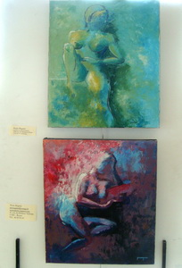 Mes toiles exposées : Deux nus
