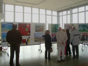 Visiteurs - Expo des 20 ans de l`Atelier des Arts Plastiques de Royan