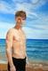 portrait de Benjamin sur mer - huile sur toile