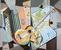 Nature morte etude sur cubisme instruments de musique