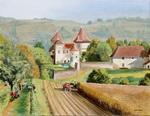 Chateau Chapeau Cornu - les 4 saisons - Vendanges -mas - l`automne