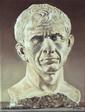 portrait du buste sculpté de César